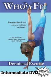 Christian Alternative to Intermediate Yoga DVD